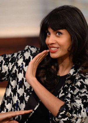 Jameela Jamil at 'The Today Show' in New York