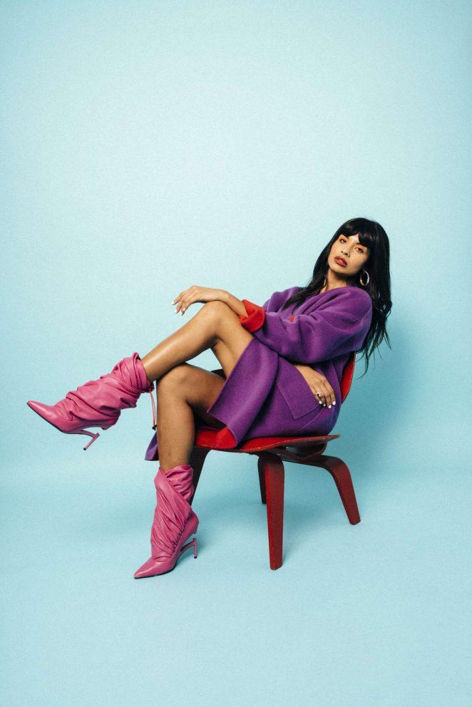 Jameela Jamil: Nylon Magazine 2018 -01