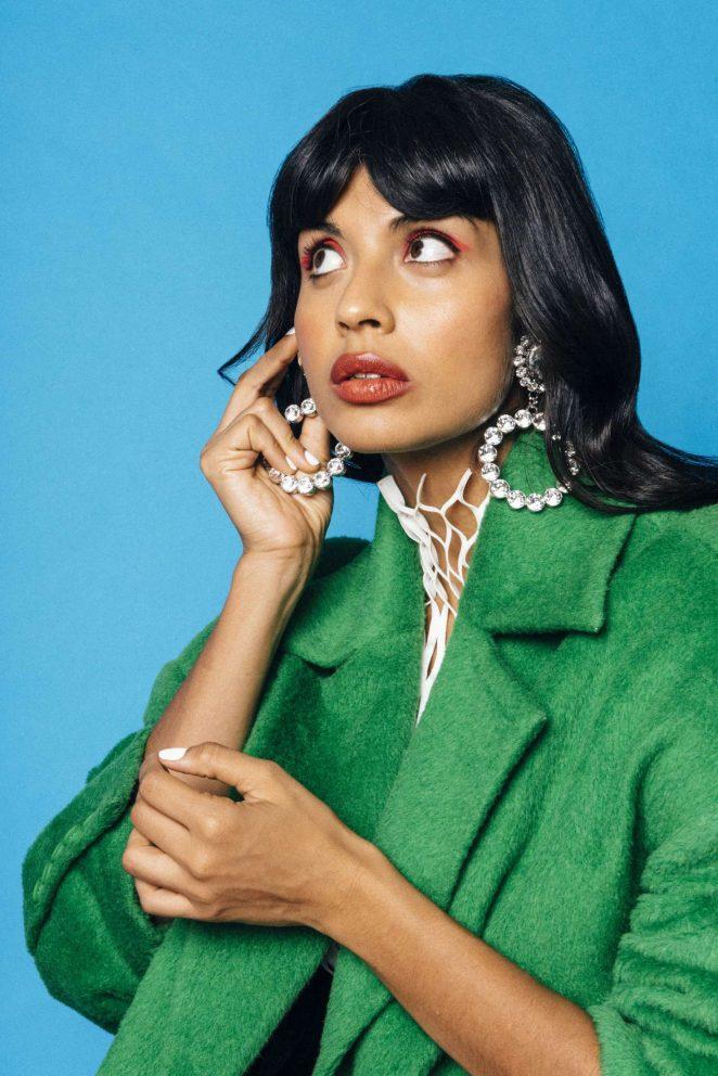 Jameela Jamil: Nylon Magazine 2018 -03