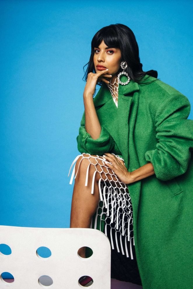 Jameela Jamil: Nylon Magazine 2018 -04