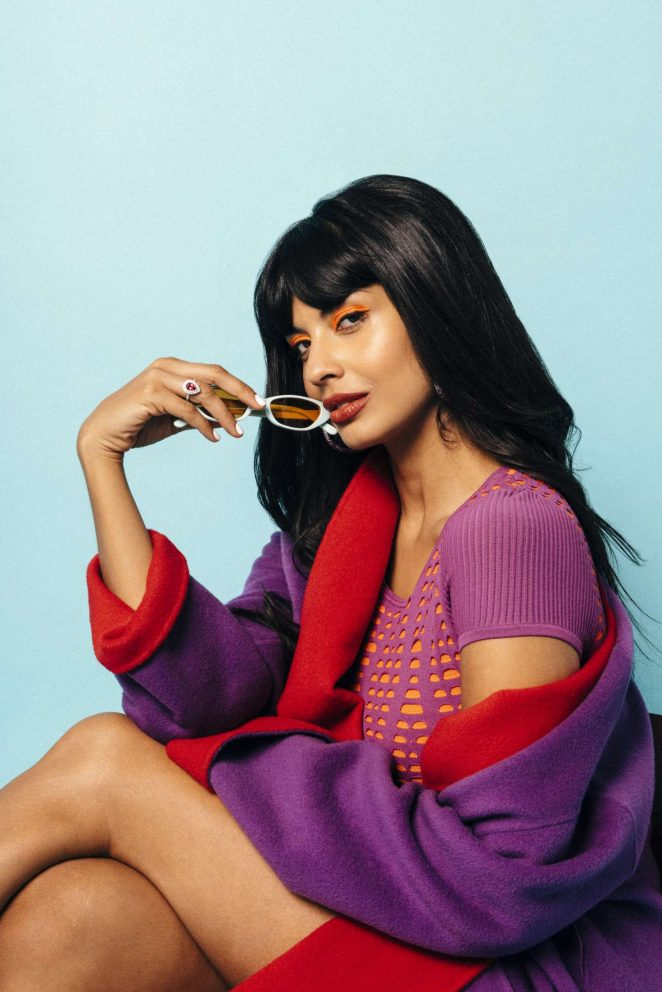 Jameela Jamil - Nylon Magazine (December 2018)