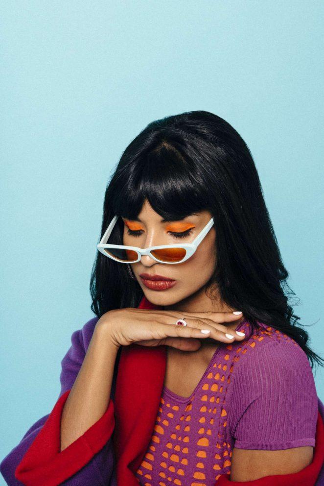 Jameela Jamil: Nylon Magazine 2018 -16
