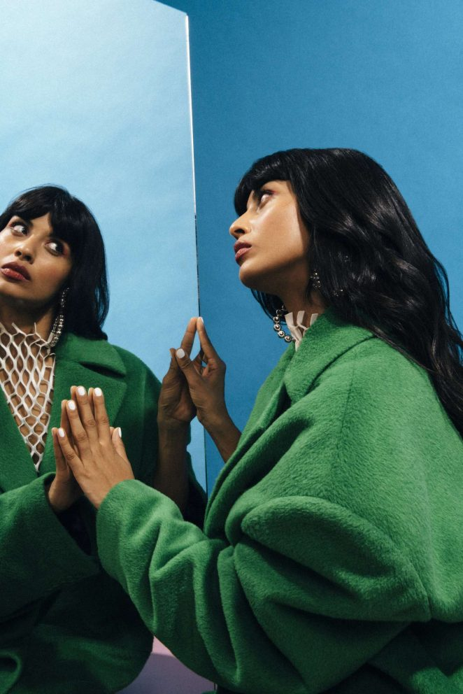 Jameela Jamil: Nylon Magazine 2018 -21