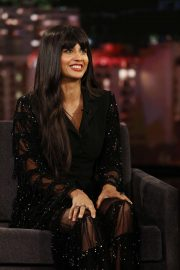 Jameela Jamil - On 'Jimmy Kimmel Live!' in Los Angeles