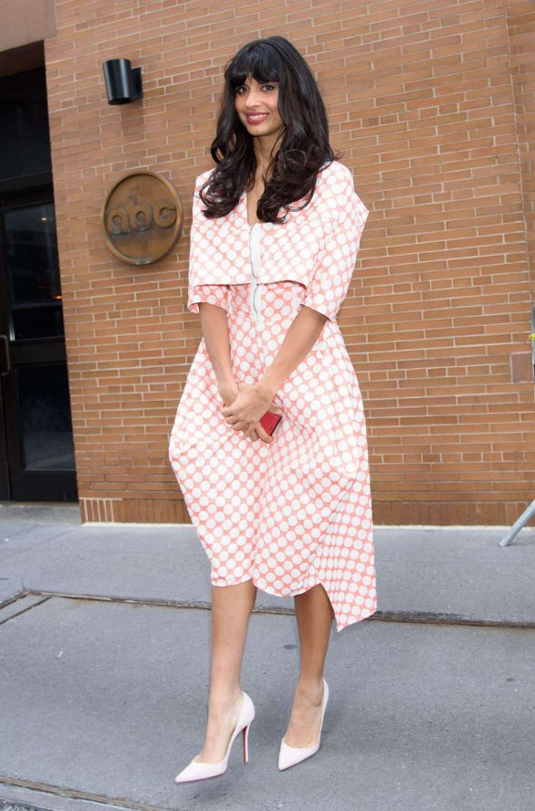 Jameela Jamil - 'The View' TV show in New York