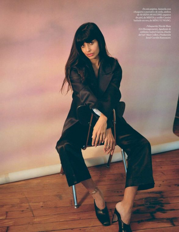 Jameela Jamil - Vogue Espana Magazine (January 2020)