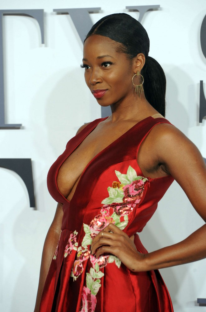 Jamelia: Fifty Shades Of Grey UK Premiere -02