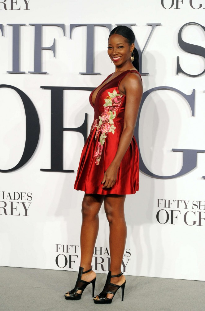 Jamelia: Fifty Shades Of Grey UK Premiere -03