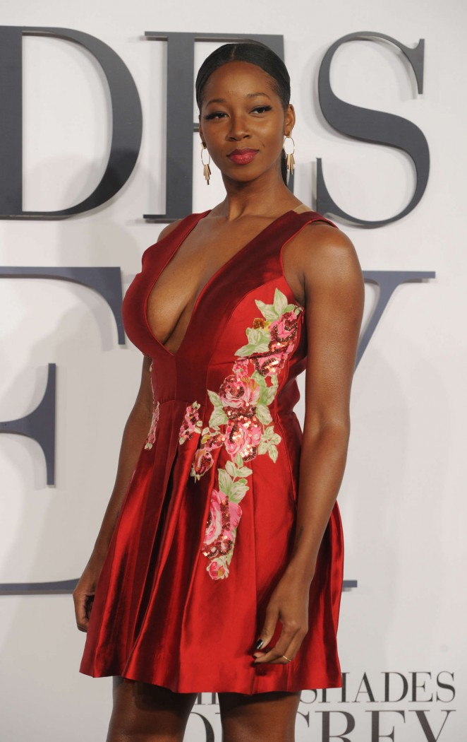 """Jamelia - """"Fifty Shades Of Grey"""" Premiere in London"""