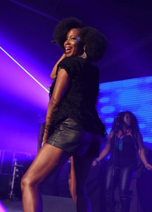Jamelia - Performing at Birmingham Pride 2017 in Birmingham