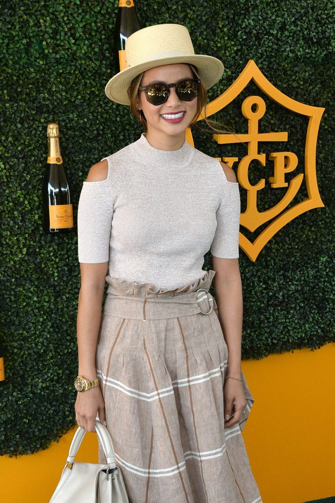 Jamie Chung - 2016 Veuve Clicquot Polo Classic in Pacific Palisades