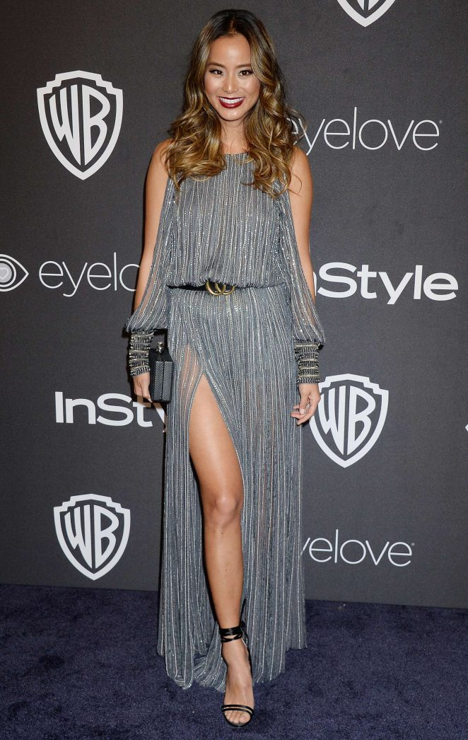 Jamie Chung - 2017 InStyle and Warner Bros Golden Globes After Party in LA