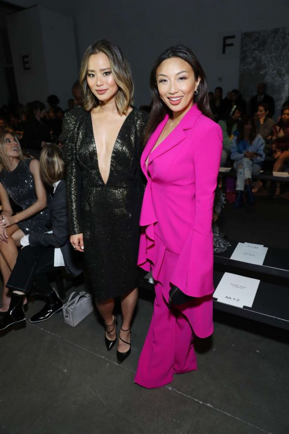 Jamie Chung - 2020 Pamella Roland show at New York Fashion Week
