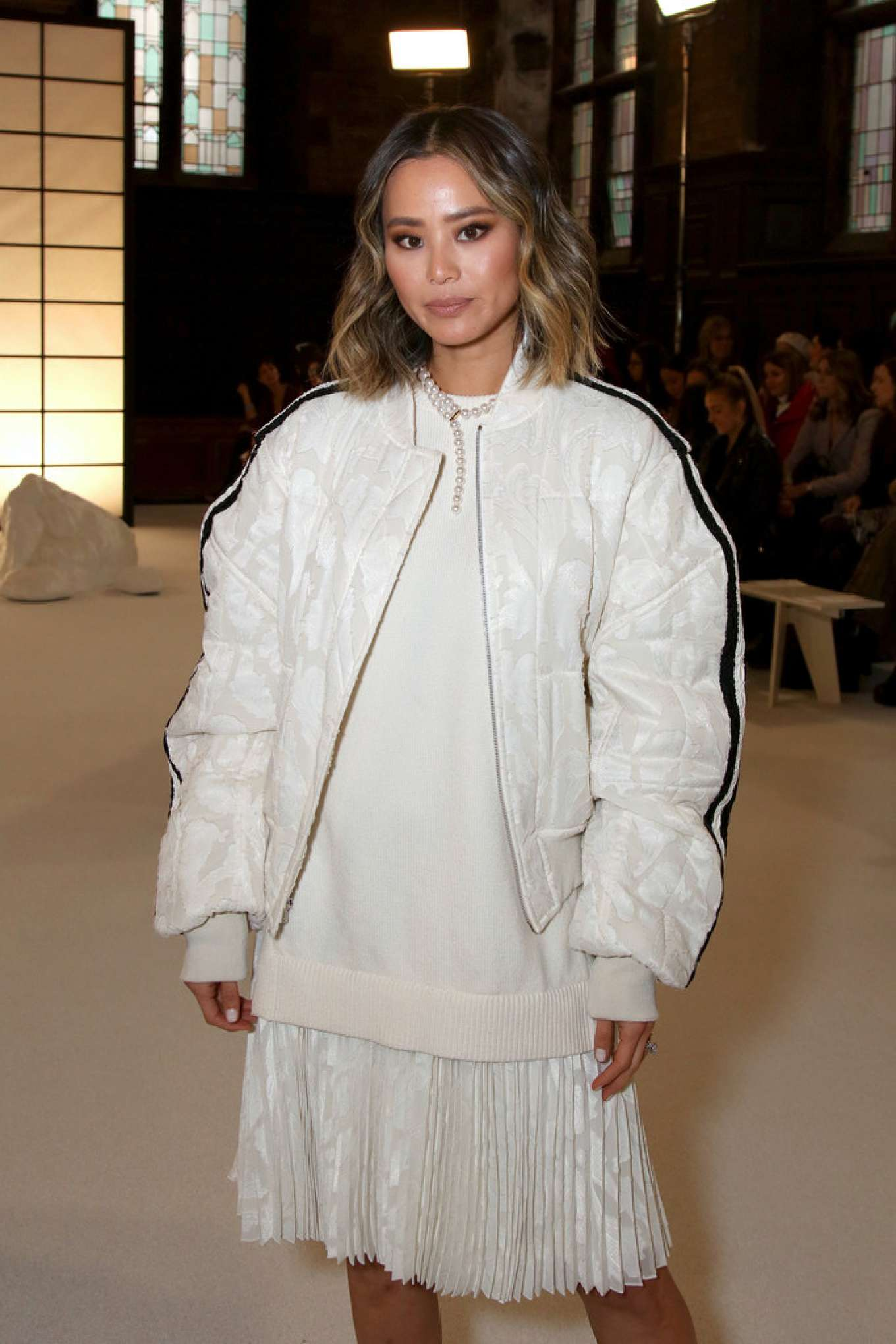 Jamie Chung - ADEAM Fashion Show 2020 at New York Fashion Week