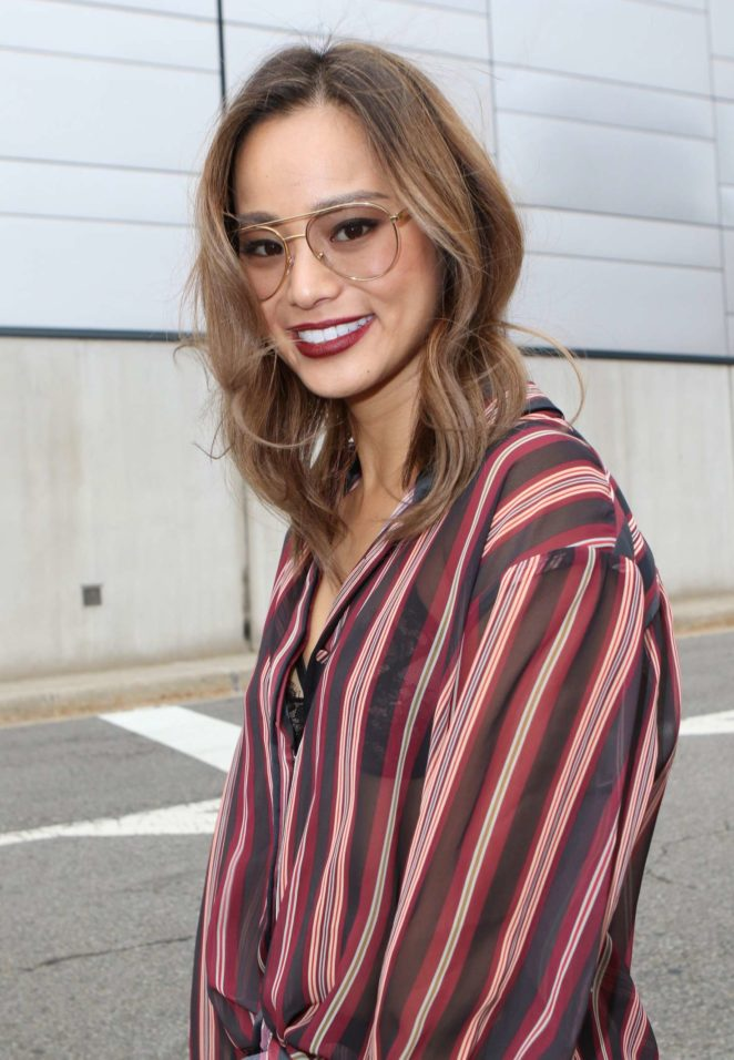 Jamie Chung at New York Comic Con