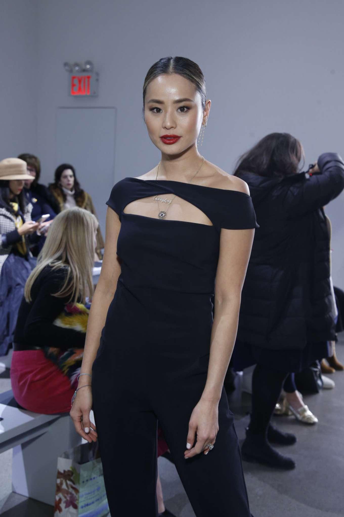 Jamie Chung - Chiara Boni show at 2020 New York Fashion Week