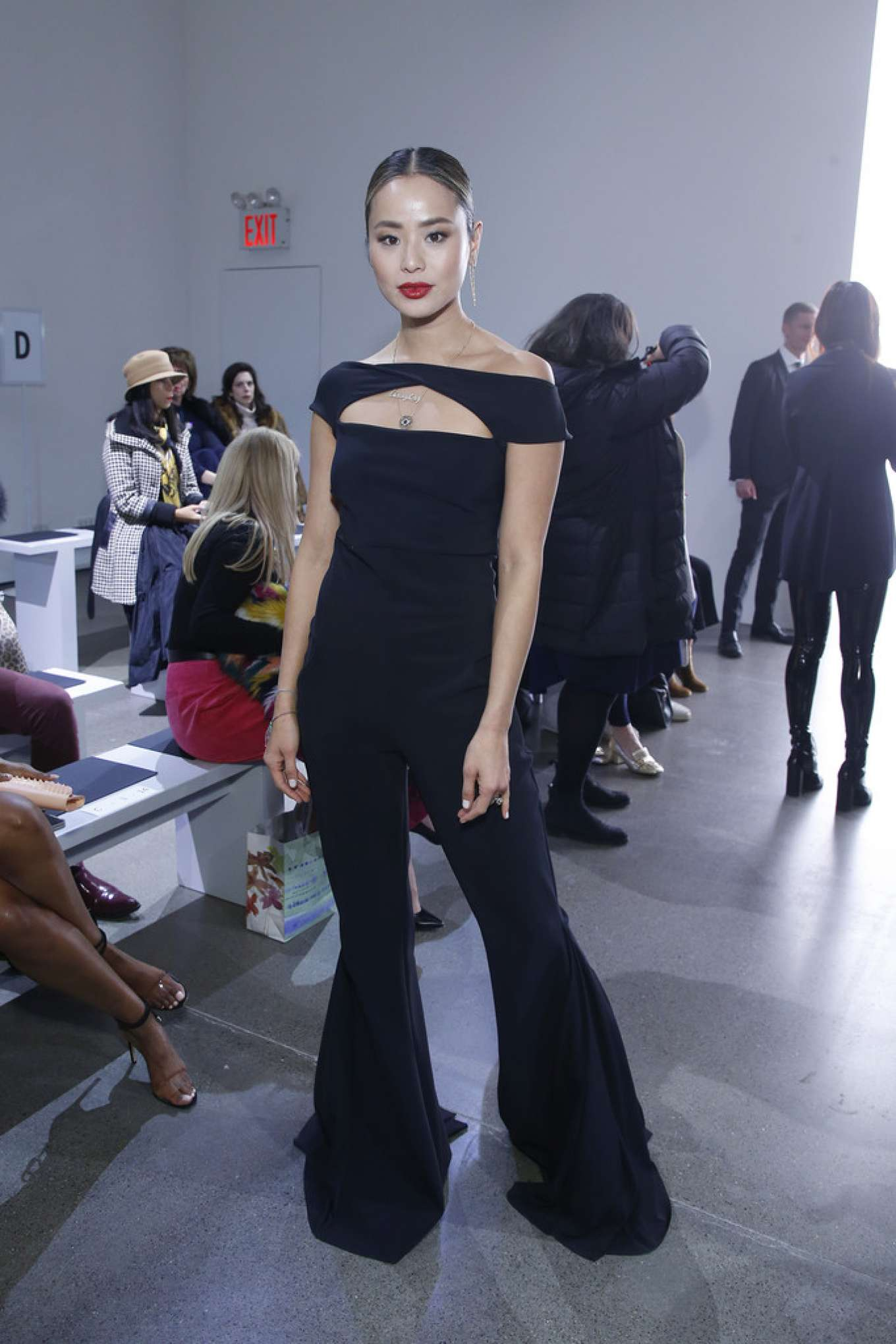 Jamie Chung 2020 : Jamie Chung – Chiara Boni show at 2020 New York Fashion Week-04