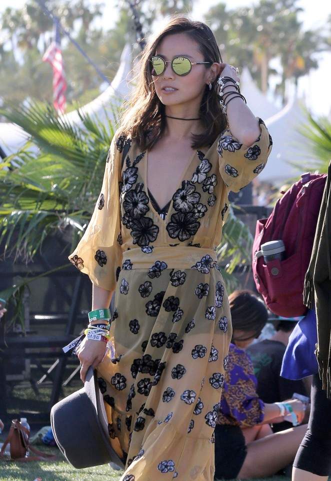 Jamie Chung - Coachella 2016 in Indio day 2