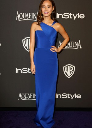Jamie Chung - InStyle And Warner Bros Golden Globes Party 2015 in Beverly Hills