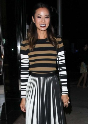 Jamie Chung - Leaving Sephora in Beverly Hills