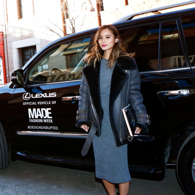 Jamie Chung - Made Fashion Week Presents Lexus Street Style Day 2 in New York
