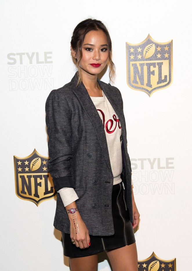 Jamie Chung - NFL Women's Style Showdown on behalf of the Northwest in NYC