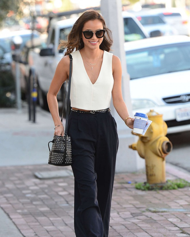 Jamie Chung - Out and about in West Hollywood