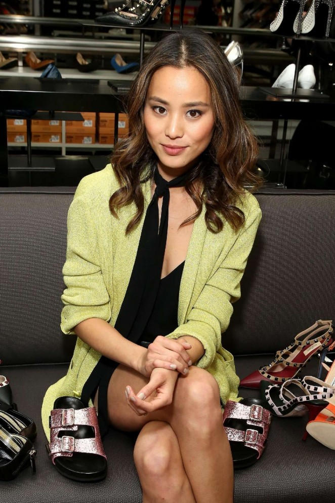 Jamie Chung - Saks OFF 5TH Celebrates the Opening in NYC