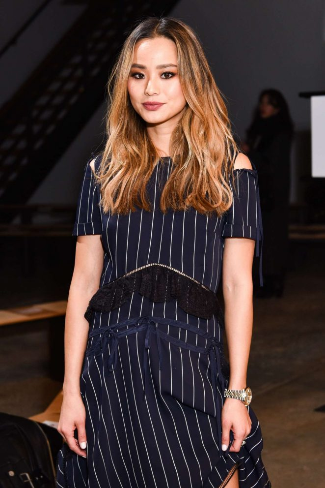 Jamie Chung - SelfPortrait Fashion Show 2018 in New York