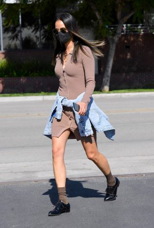 Jamie Chung - Stepped out in Pasadena