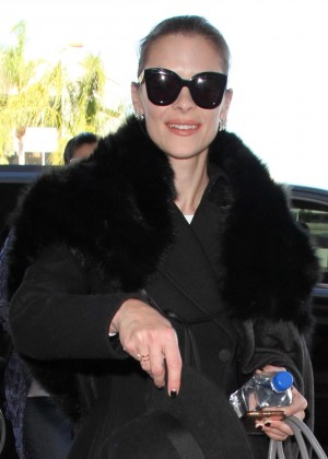 Jamie King at LAX Airport in Los Angeles