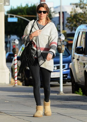 Jamie Lynn Sigler Goes to Edible Arrangements in LA