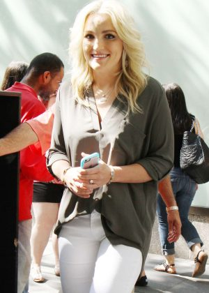 Jamie Lynn Spears - Arriving on 'The Today Show' in New York