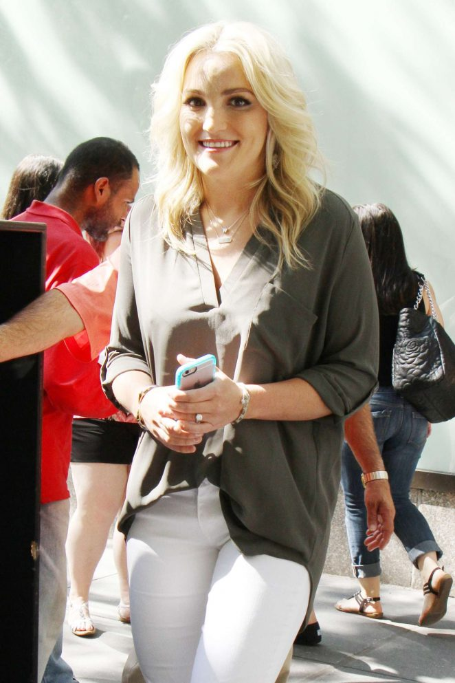 Jamie Lynn Spears – Arriving on 'The Today Show' in New York