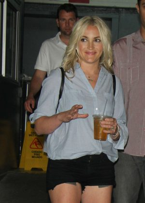 Jamie Lynn Spears at HuffPost in New York