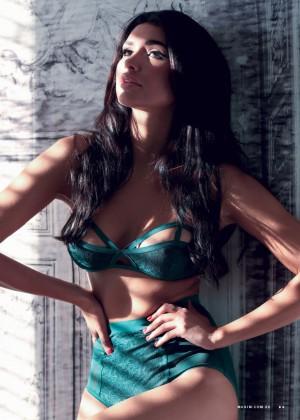 Jamillette Gaxiola - Maxim Australia Magazine (July 2015)