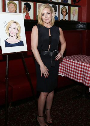Jane Krakowski at her Sardi's Oortrait Unveiling in New York City