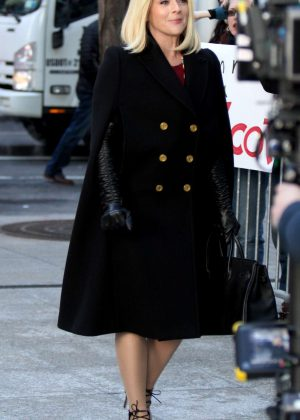 Jane Krakowski at the 'Unbreakable Kimmy Schmidt' set in NYC