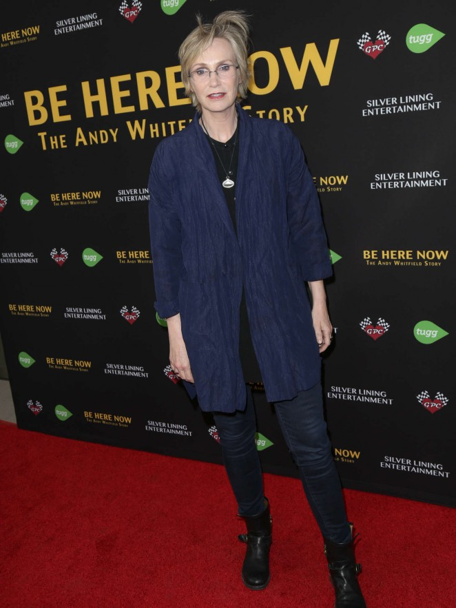 Jane Lynch - 'Be Here Now' Premiere in LA