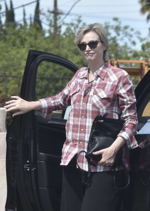 Jane Lynch out and about in Los Angeles