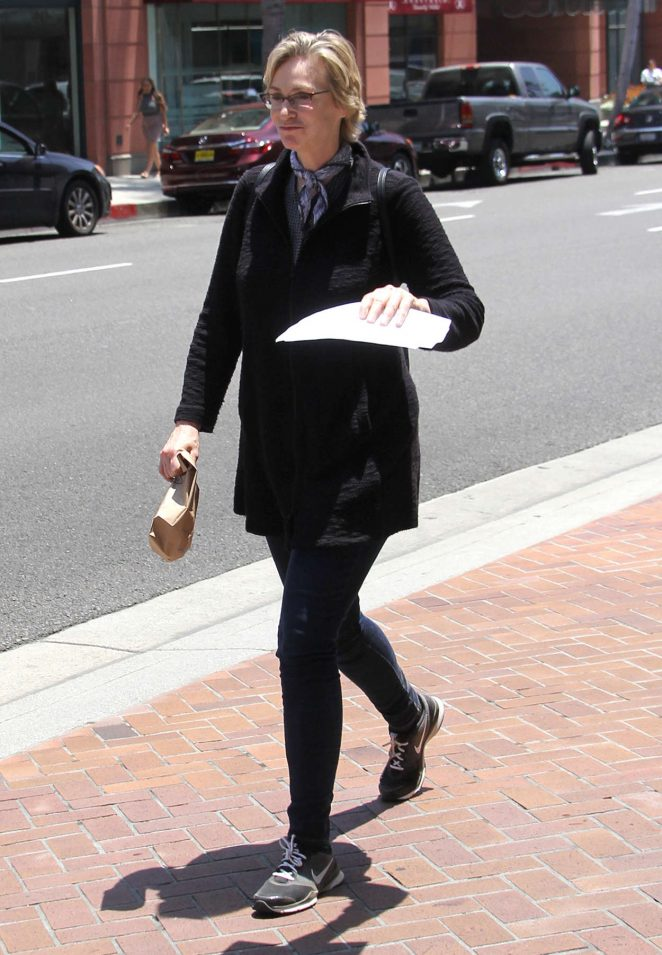 Jane Lynch out in Beverly Hills