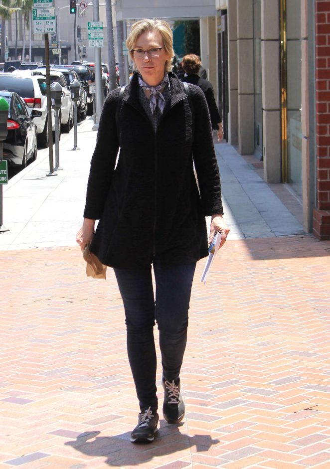 Jane Lynch out in Beverly Hills -03