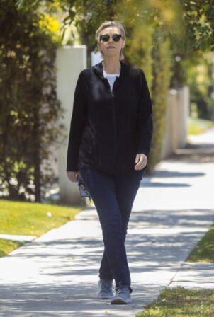 Jane Lynch - walk around in West Hollywood