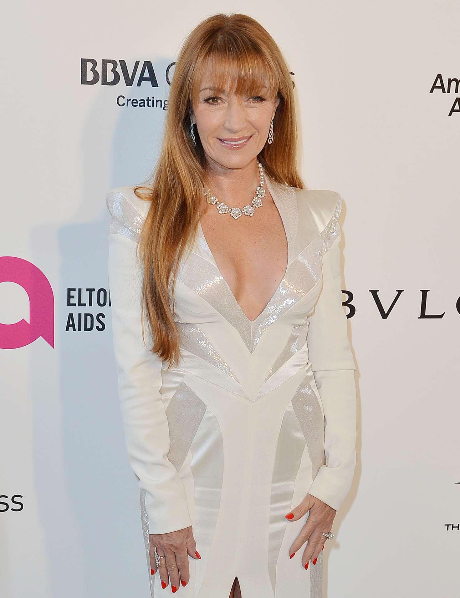 Jane Seymour 2018 : Jane Seymour: 2018 Elton John AIDS Foundations Oscar Viewing Party -01