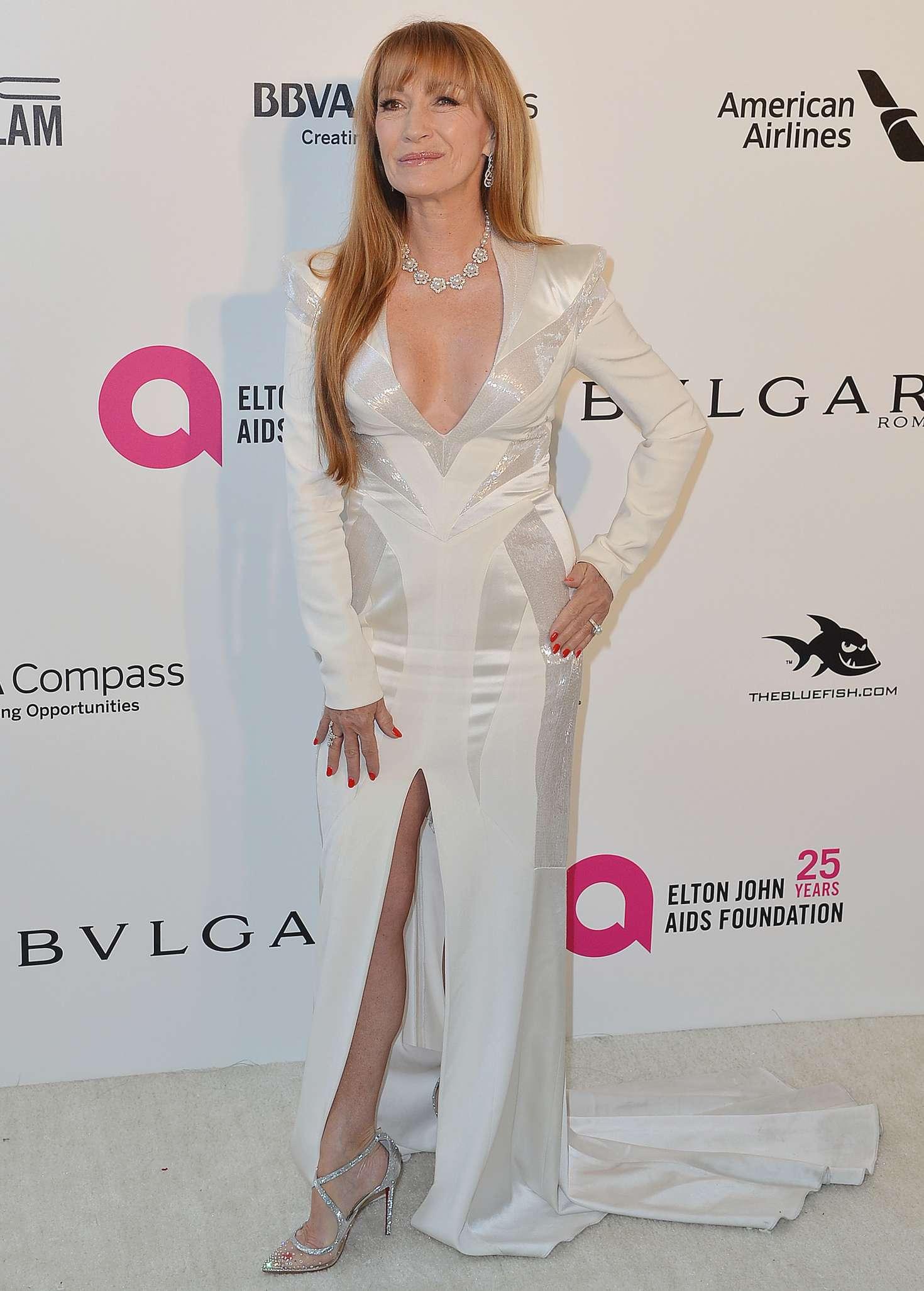 Jane Seymour 2018 : Jane Seymour: 2018 Elton John AIDS Foundations Oscar Viewing Party -06
