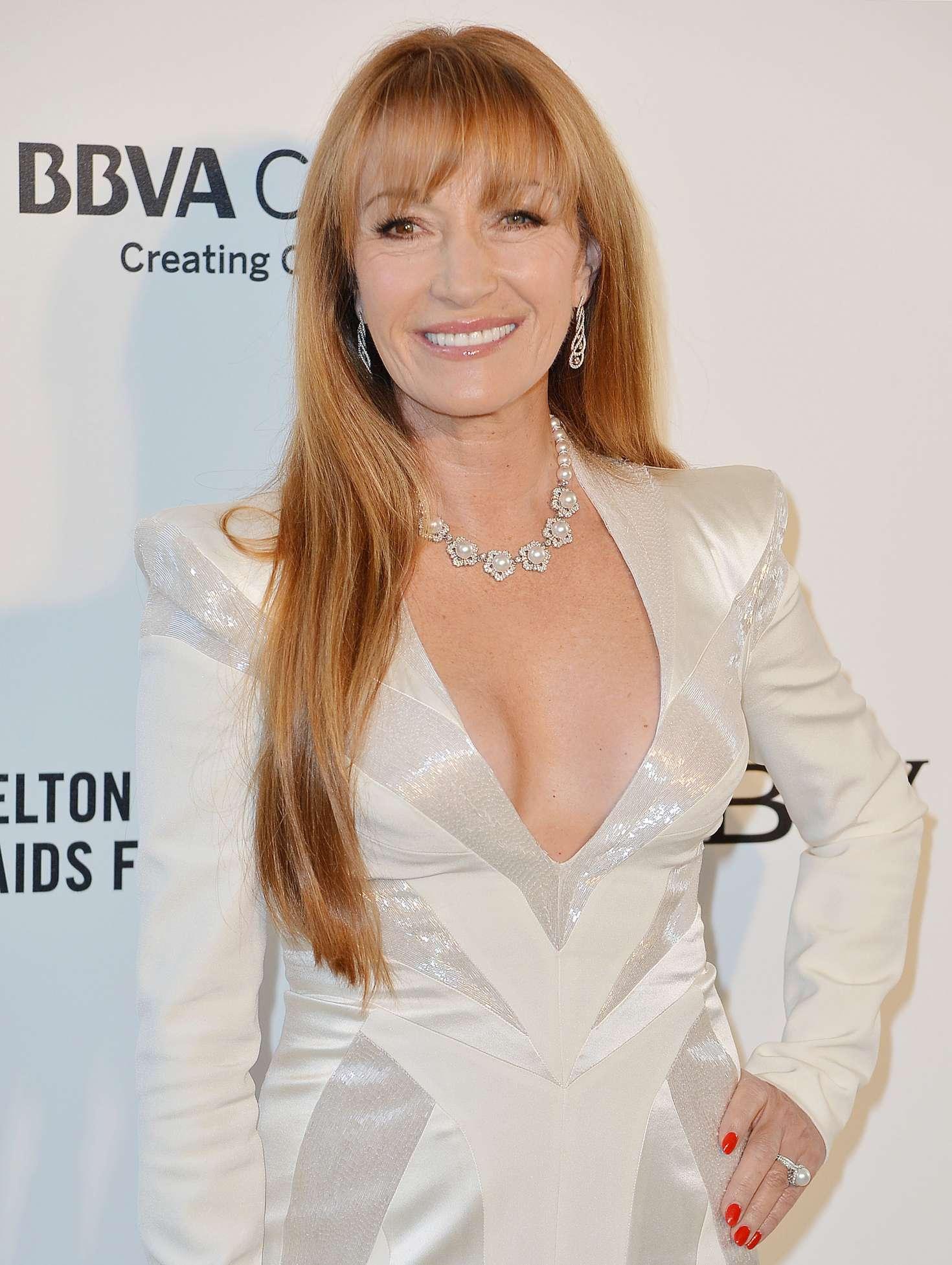 Jane Seymour 2018 : Jane Seymour: 2018 Elton John AIDS Foundations Oscar Viewing Party -07
