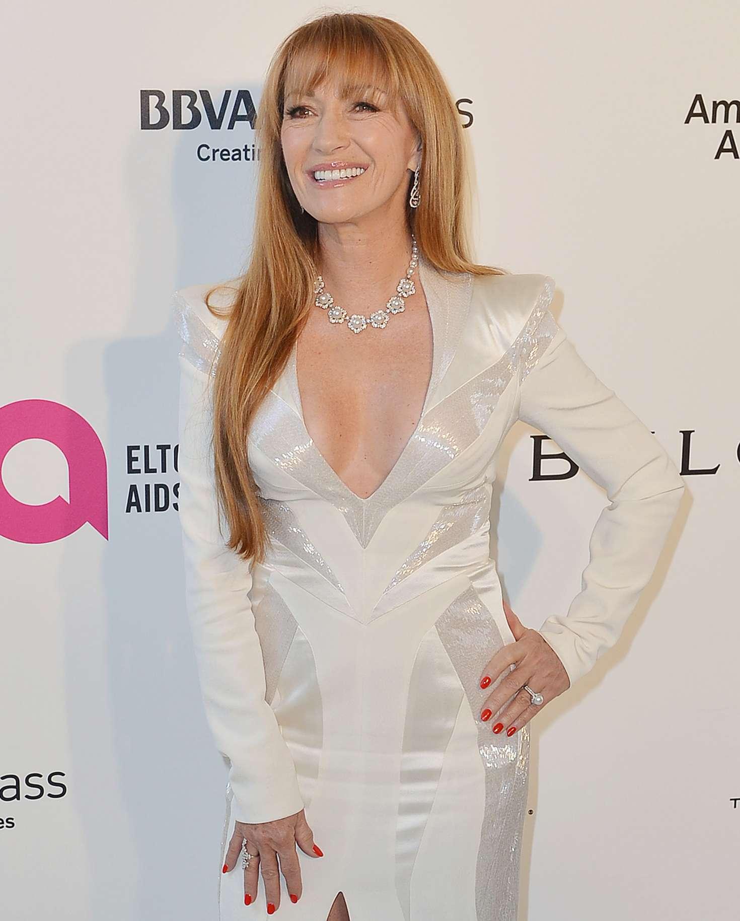 Jane Seymour 2018 : Jane Seymour: 2018 Elton John AIDS Foundations Oscar Viewing Party -08
