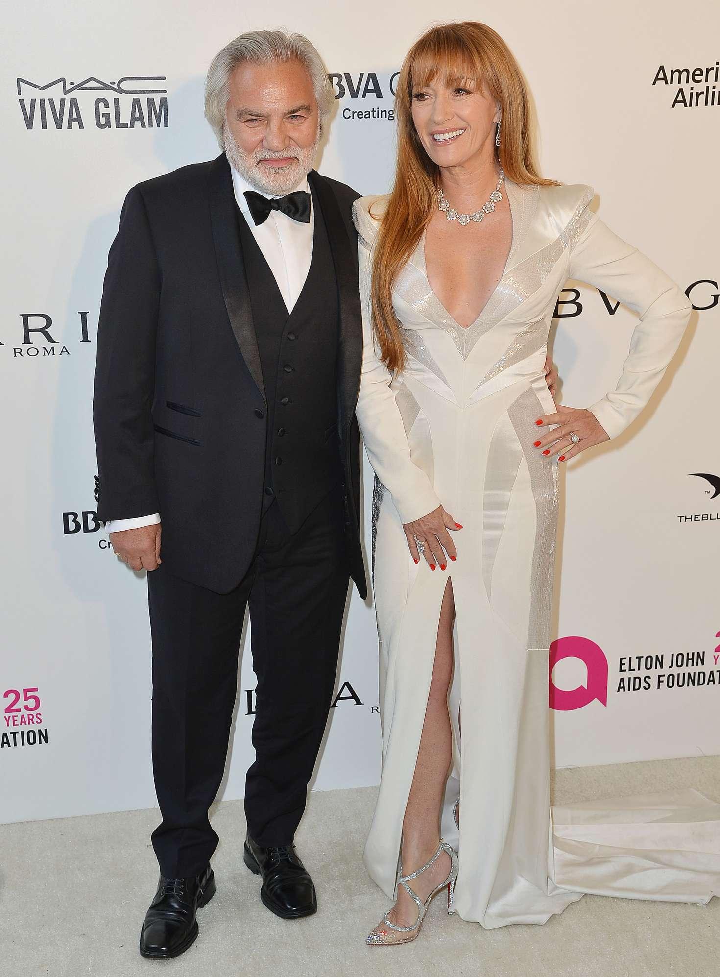 Jane Seymour 2018 : Jane Seymour: 2018 Elton John AIDS Foundations Oscar Viewing Party -09