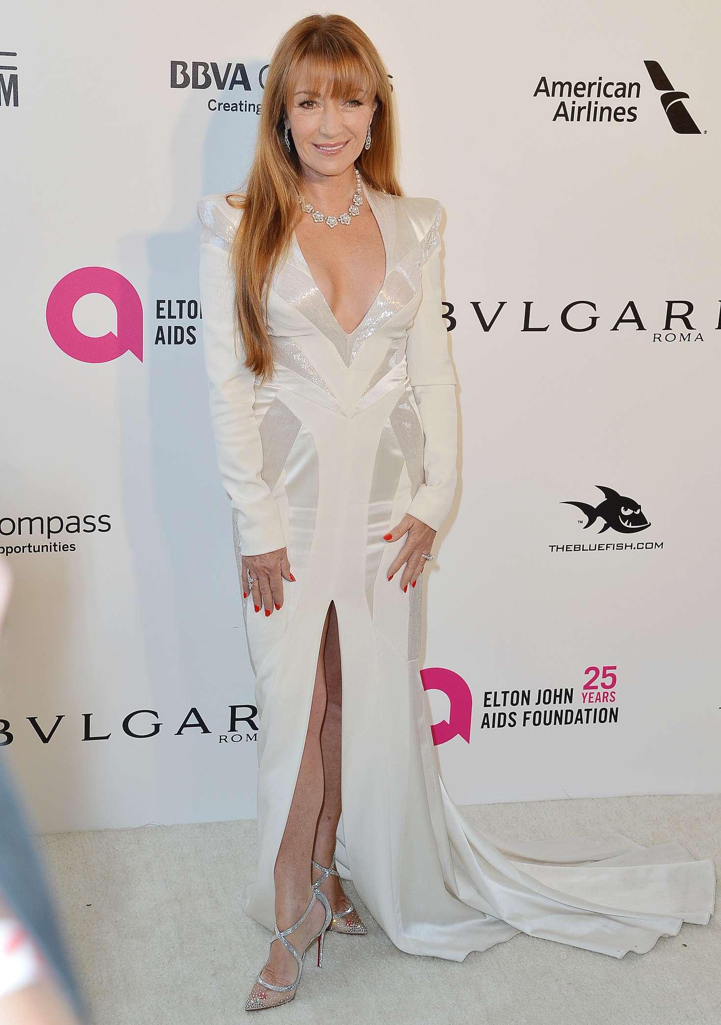 Jane Seymour 2018 : Jane Seymour: 2018 Elton John AIDS Foundations Oscar Viewing Party -11