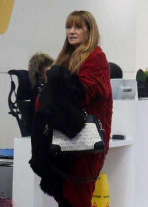 Jane Seymour at ITV Studios in London